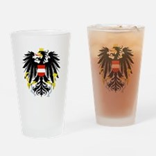Austrian Coat of Arms Drinking Glass