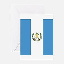 Flag of Guatemala Greeting Cards