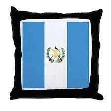 Flag of Guatemala Throw Pillow