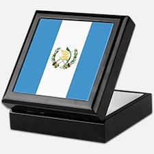 Flag of Guatemala Keepsake Box