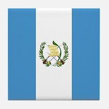 Flag of Guatemala Tile Coaster