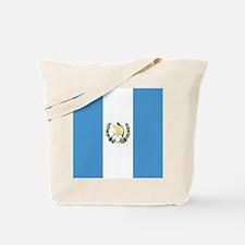 Flag of Guatemala Tote Bag