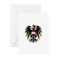 Austrian Coat of Arms Greeting Cards