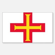 Flag of Guernsey Decal