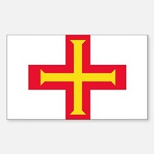 Flag of Guernsey Stickers