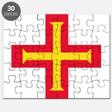 Flag of Guernsey Puzzle