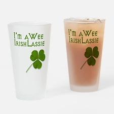 Wee Irish Lassie Drinking Glass