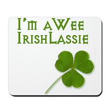 Wee Irish Lassie Mousepad
