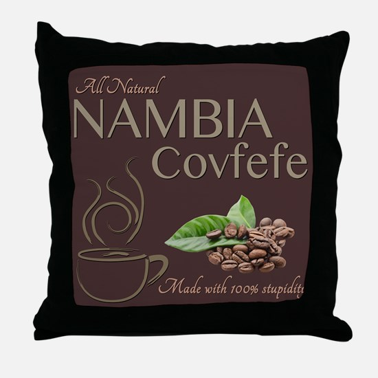 Nambia Covfefe Throw Pillow