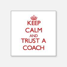 Keep Calm and Trust a Coach Sticker