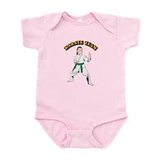Karate Team Infant Bodysuit