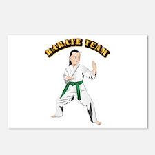 Karate Team Postcards (Package of 8)