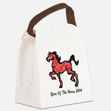 Year Of The Horse 2014 Canvas Lunch Bag