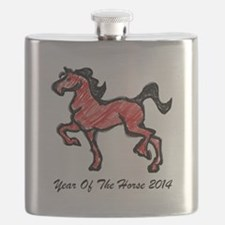 Year Of The Horse 2014 Flask