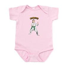 Karate Infant Bodysuit