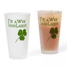 Wee Irish Laddie Drinking Glass