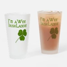 Wee Irish Laddie Drinking Glass