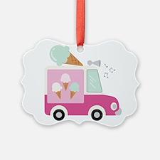 Ice Cream Truck Ornament