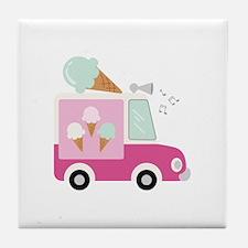 Ice Cream Truck Tile Coaster