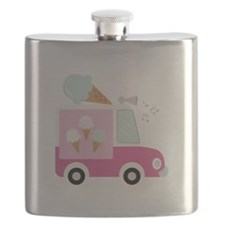 Ice Cream Truck Flask