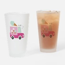 Ice Cream Truck Drinking Glass