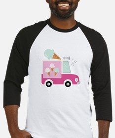 Ice Cream Truck Baseball Jersey
