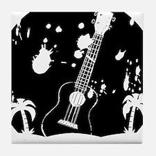 Uke ukulele instrument Tile Coaster