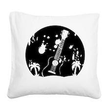 Uke ukulele instrument Square Canvas Pillow