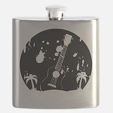 Uke ukulele instrument Flask