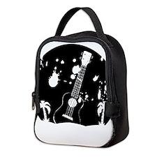 Uke ukulele instrument Neoprene Lunch Bag