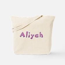 Aliyah Pink Giraffe Tote Bag