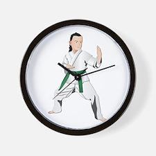 Karate - No Txt Wall Clock