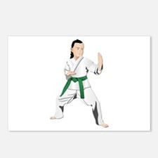 Karate - No Txt Postcards (Package of 8)