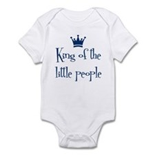 King of the Little People Infant Bodysuit