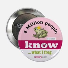 """Ravelry 4 Million 2.25&Quot; Frog 2.25"""" Button"""
