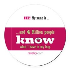 Ravelry 4 Million My Round Round Round Car Magnet
