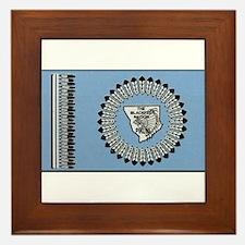 Blackfoot Tribe Framed Tile