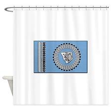 Blackfoot Tribe Shower Curtain