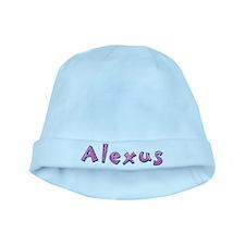 Alexus Pink Giraffe baby hat