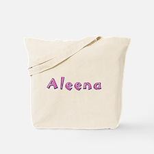 Aleena Pink Giraffe Tote Bag