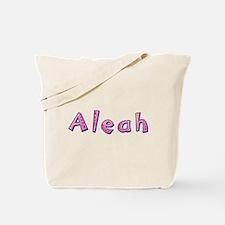 Aleah Pink Giraffe Tote Bag