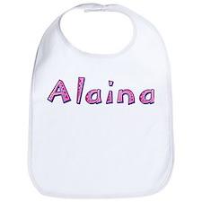 Alaina Pink Giraffe Bib