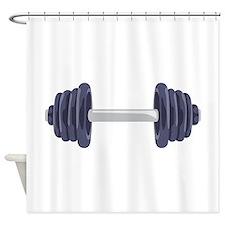 Iron Weights Shower Curtain