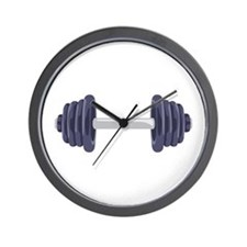 Iron Weights Wall Clock