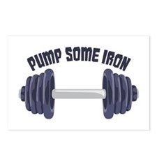 Pump Some Iron Postcards (Package of 8)