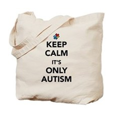 Keep Calm Autism Tote Bag