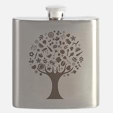 Modern Tree Flask