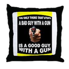 GOOD GUY Throw Pillow