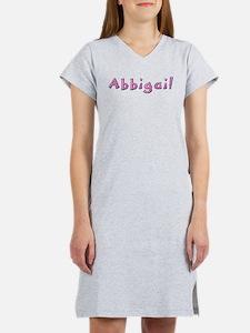 Abbigail Pink Giraffe Women's Nightshirt