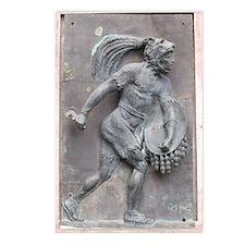 Aztec Warrior Postcards (Package Of 8) Postcards (